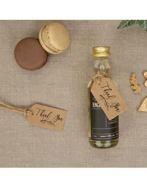 Zestaw 10 etykiety na butelkę – Hearts & Krafts
