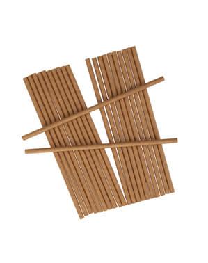 25 papieren rietjes - Hartjes & Handenarbeid