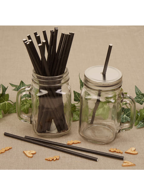 25 paper straws - Hearts & Krafts