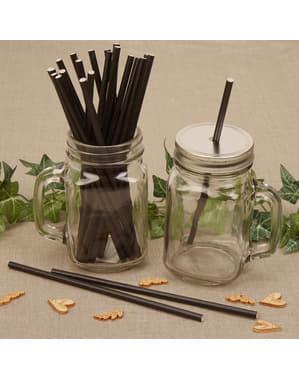 Set 25 straw kertas - Hati & Kraf