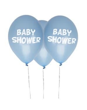 9 Μπλε Μπαλόνια
