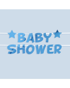 "Sininen ""Baby Shower"" -seppele – Little Star Blue"