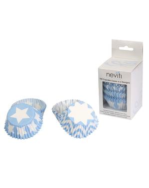 100 capsule cupcake - Blue Star