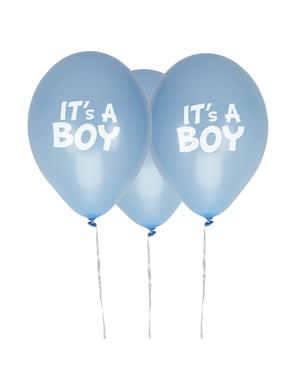 8 baloane din latex