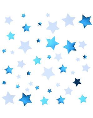 Tischkonfetti blau - Little Star Blue