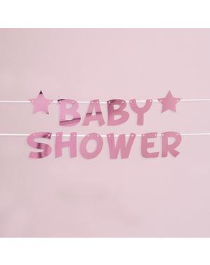 "Rozi ""Baby Shower"" girland - Roza Mala Zvijezda"