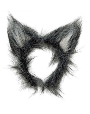 Cerchietto per capelli con orecchie di lupo mannaro