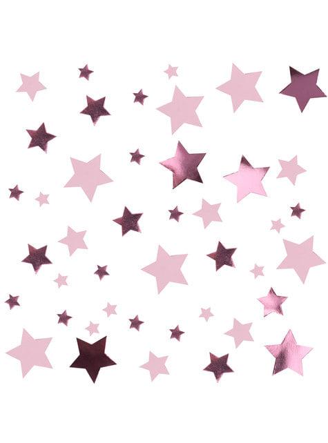 Επιτραπέζιο Ροζ Κομφετί - Little Star Pink