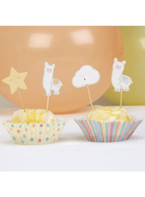 20 pics décoratifs pour gâteau diverses formes