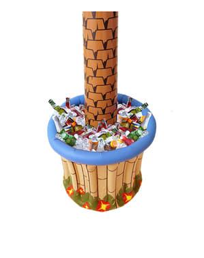 Opblaas palmboom koelbox