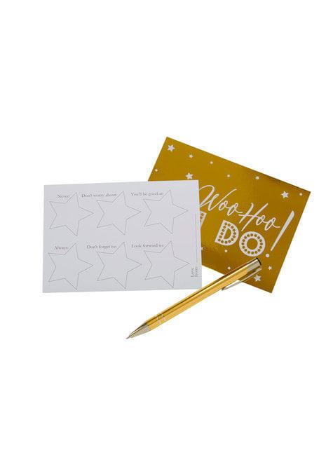 10 tarjetas divertidas de papel - Woo Hoo Hen Do