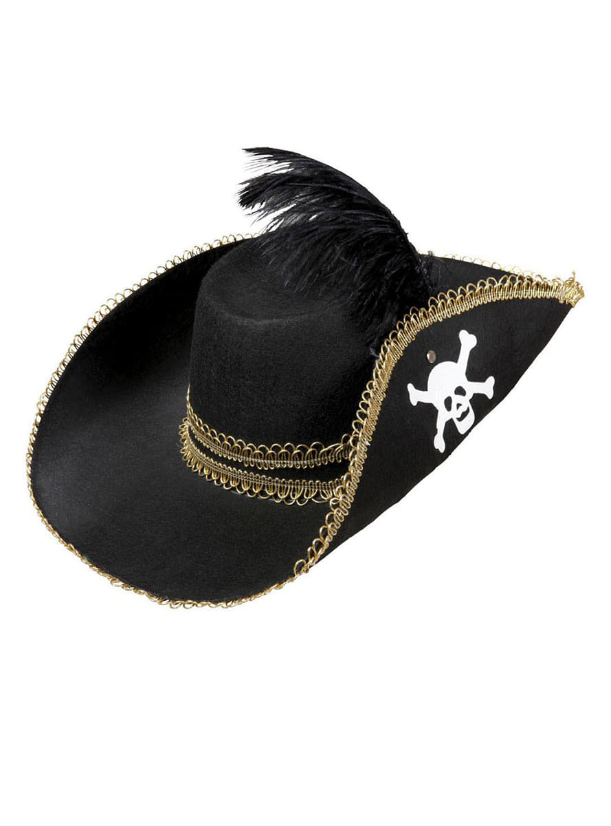 Captain Pirate Hat For Adults The Coolest Funidelia