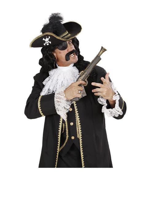 Sombrero de capitán pirata para adulto - para tu disfraz