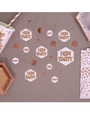 Tafel confetti