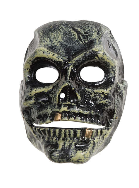 Máscara de calavera moving mouth