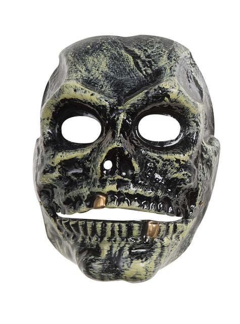 Skull mask moving mouth