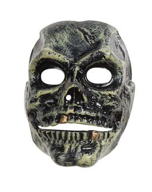Máscara de caveira moving mouth