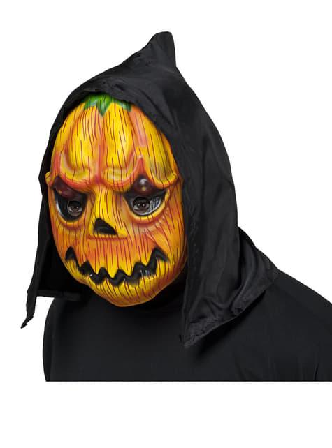 Pumpkin Mask with hood