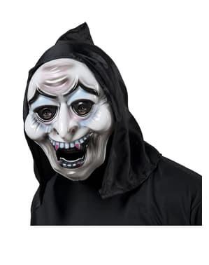 Masque vampire possédé à capuche