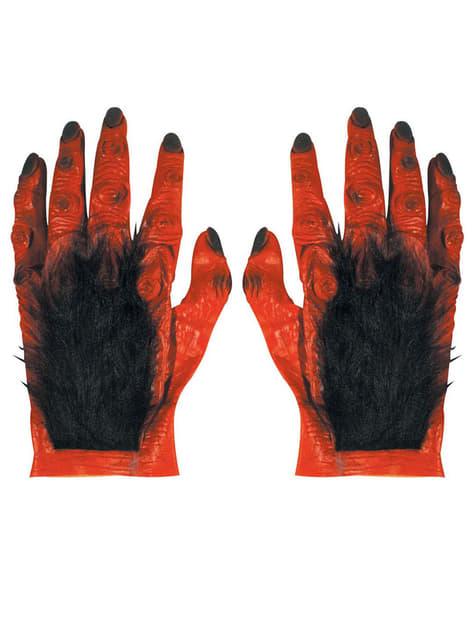 Latex Hairy Devil Hands