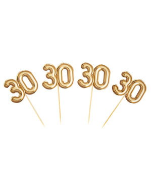 20 bețișoare decorative