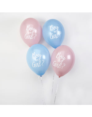 8 rozmanitých balónov (30 cm) - Pattern Works