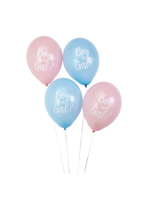8 globos variados (30 cm) - Pattern Works Blue - para tus fiestas