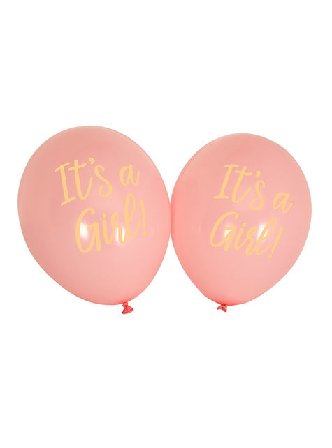 8 lyserøde balloner (30 cm) - Pattern Works Pink