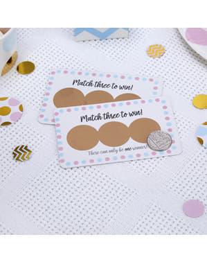 Pattern Works Blue スクラッチ・ゲームカード10枚