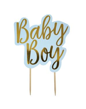 """Baby Boy"" dekoracija tort - Pattern Works"