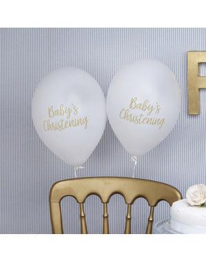 """8 """"Baby's Christening"""" lateksi-ilmapalloa – Pattern Works"""