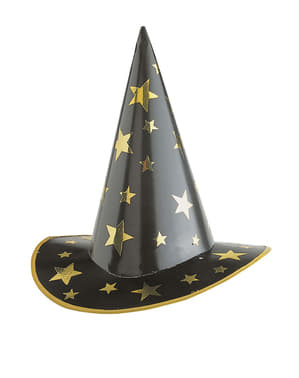 Pălărie de vrăjitor cu stele