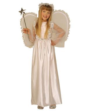 Fato de anjo celestial para menina
