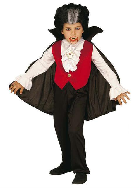 Disfraz de mini Conde Drácula para niño