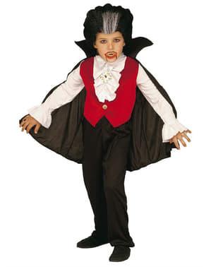 Chlapčenský kostým pre mačiatka Dracula