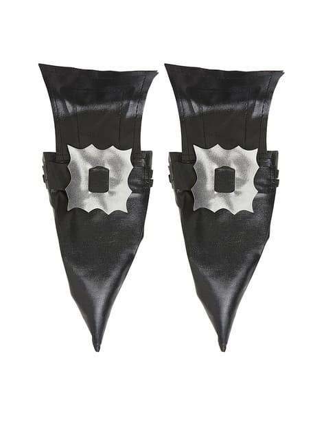 Witch boot covers with buckles