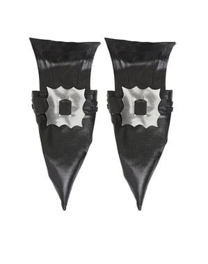 Tapa botas de bruxa com fivela