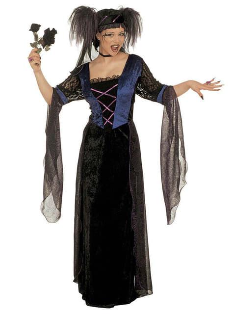 Dámský kostým gotická princezna
