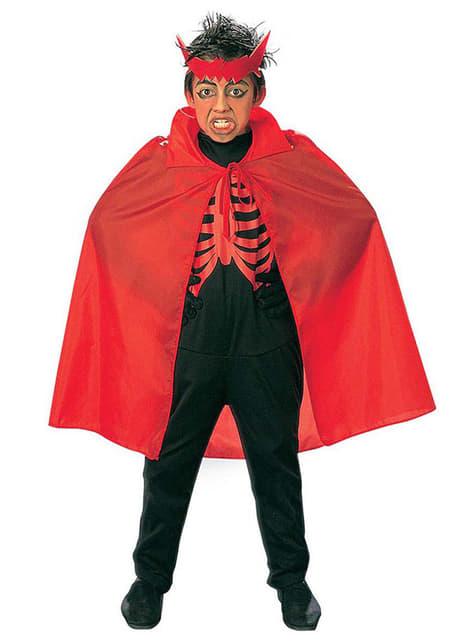 Červený plášť pre deti