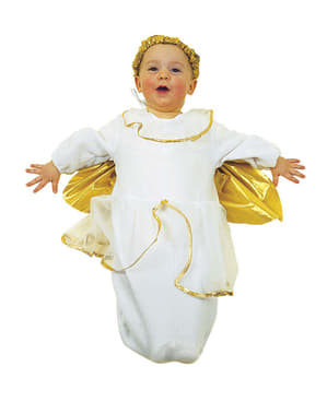 Fato de anjo santo para bebé