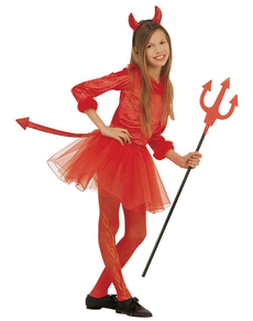 girls modern she devil costume