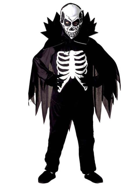 Déguisement de gentleman squelette pour garçon