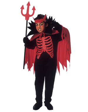 Диявол з підземного костюма для хлопчика