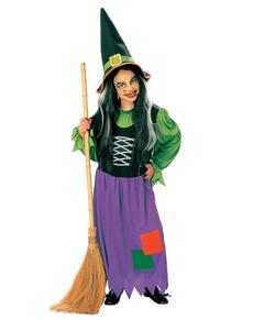 Costumi da strega per bambina. Abiti da magao per bambino  6a6300f80c63
