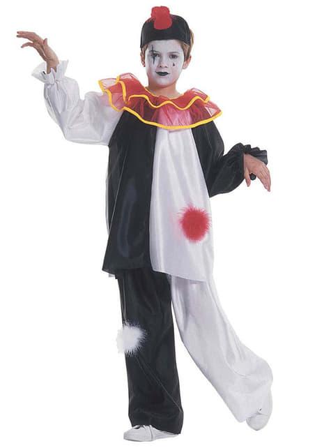 Boys Sad Harlequin Costume