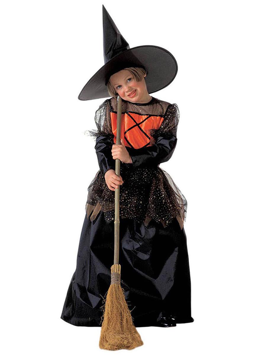 Disfraz de bruja guapa para nia Entrega rpida Funidelia