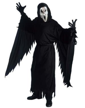 Fato de fantasma diabólico scream