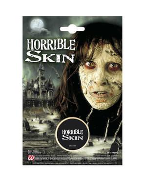 Maquillaje de piel zombie