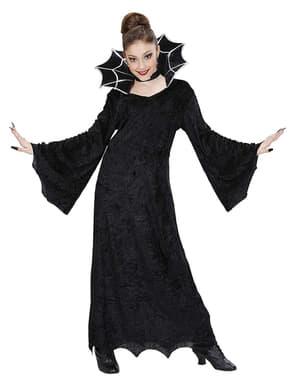 Costum dama paianjen pentru fată