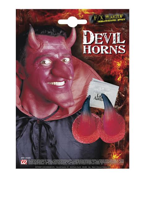 Set of Devil Horns Prostheses